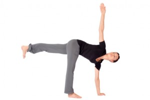 Yoga Teacher Training - Half Moon Pose