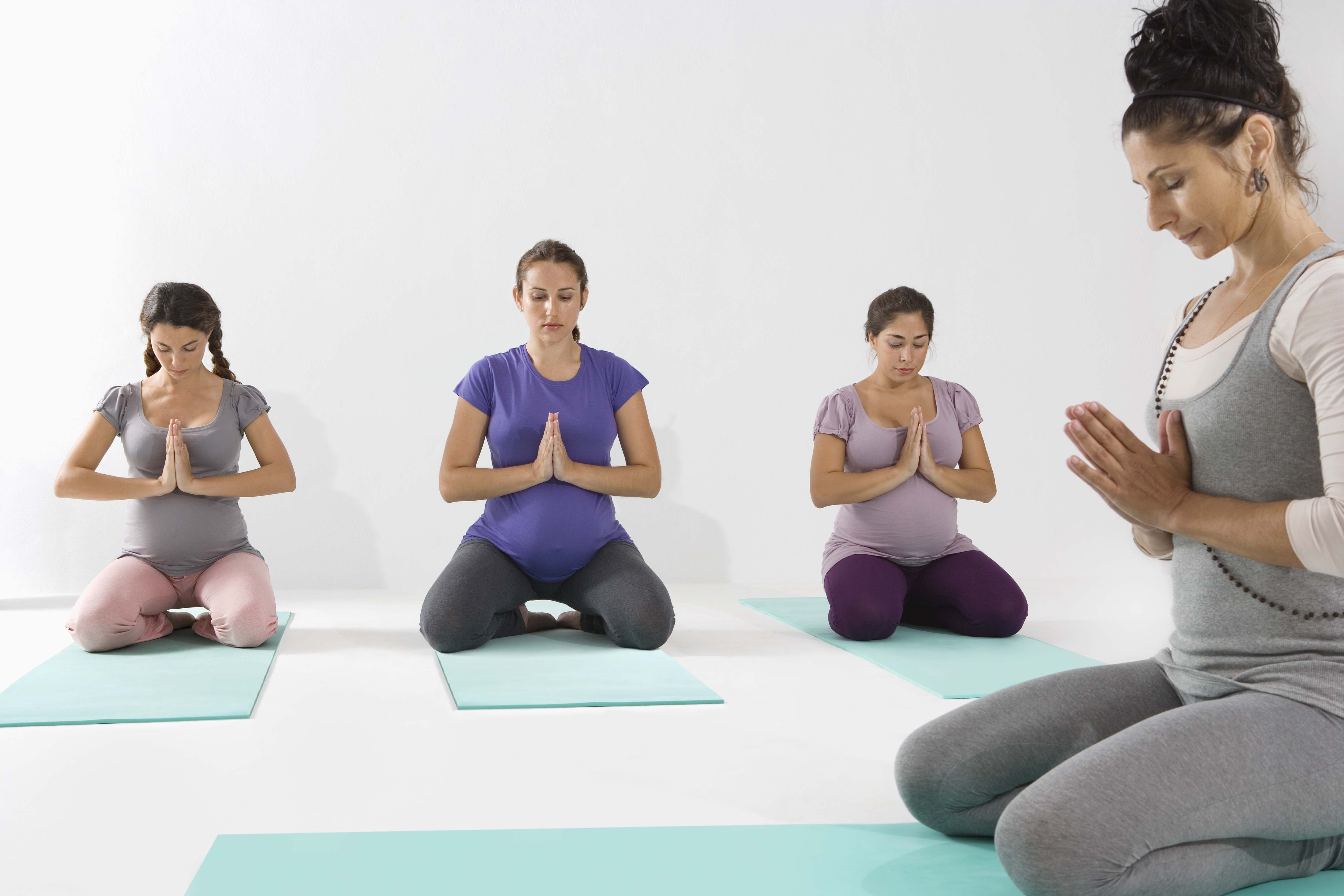 Guidelines for Pregnant Yoga students