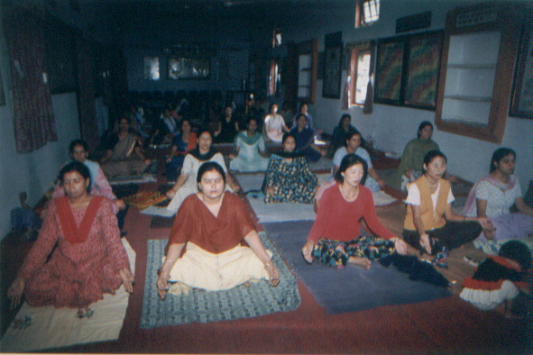 yoga meditation course