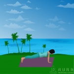 Teaching Yoga Outside Fosters Mindful Breath Awareness