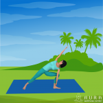 improving yoga student safety - side angle pose