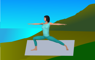 slow flow yoga movement