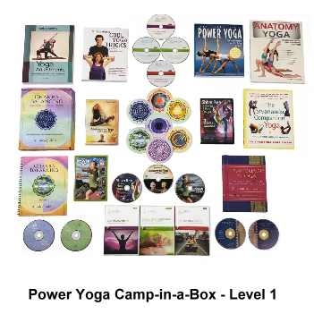 Power Yoga Camp-in-a-Box - Level 1