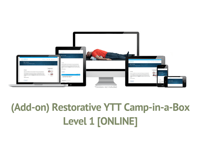 (Add-on) Restorative YTT Camp-in-a-Box – Level 1 [ONLINE]