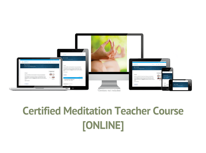 Certified Meditation Teacher Course [ONLINE]