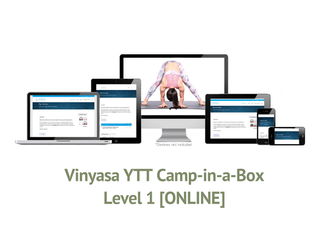 Vinyasa YTT Camp-in-a-Box – Level 1 [ONLINE]